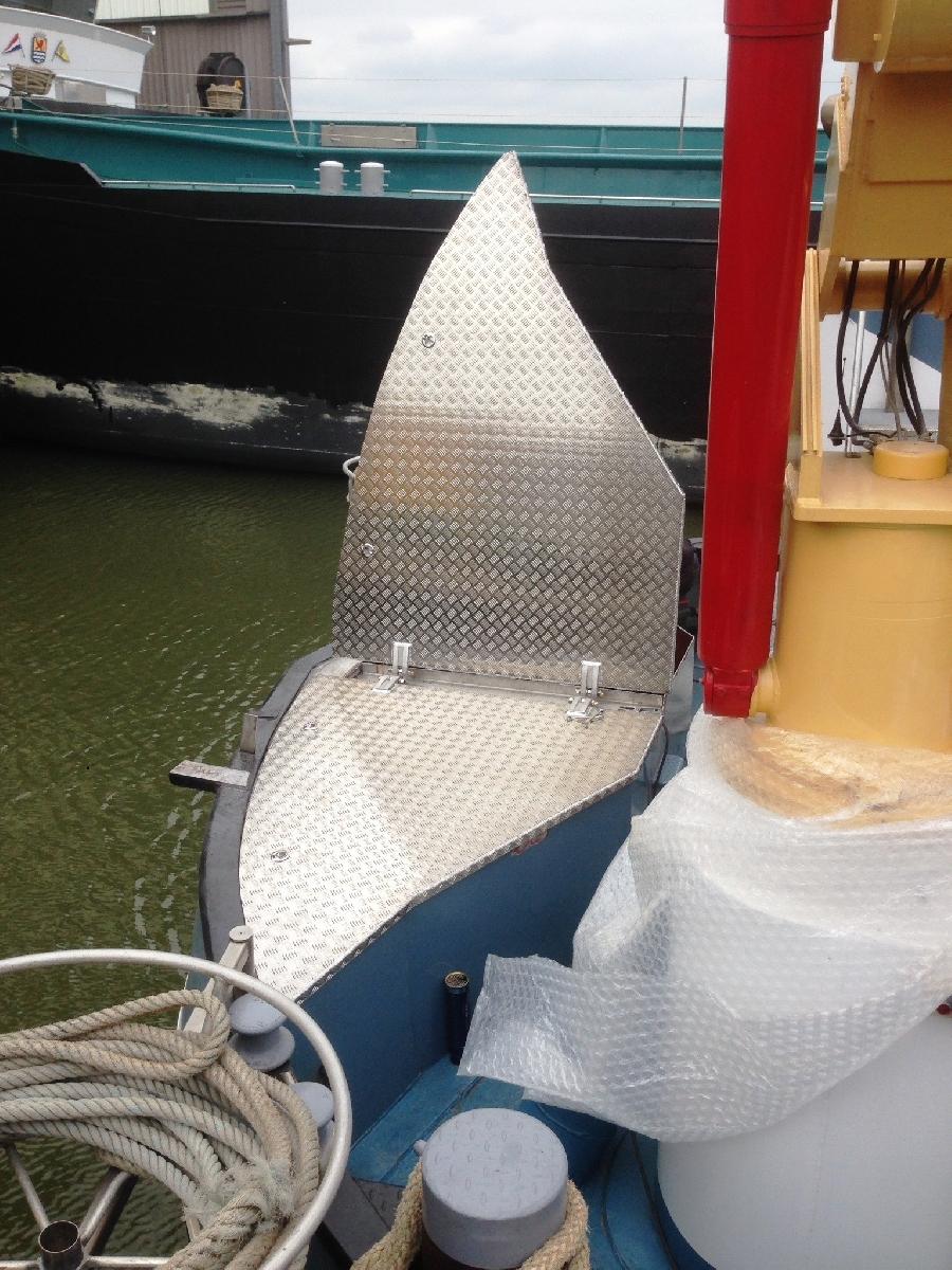 Aluminium afdichtingsluiken